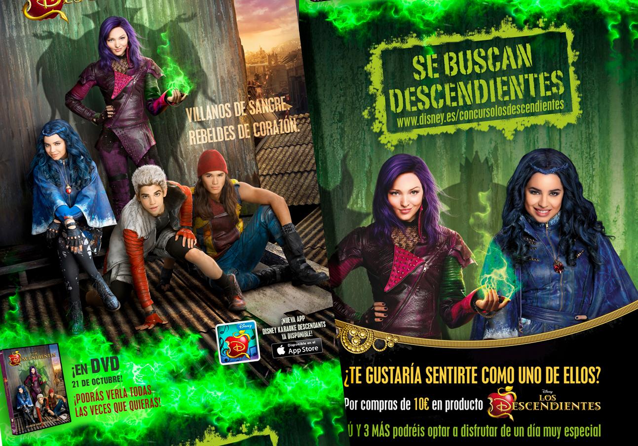 Descendientes Disney